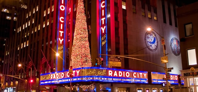 il natale a new york