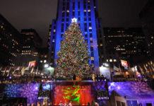 albero di natale a New york