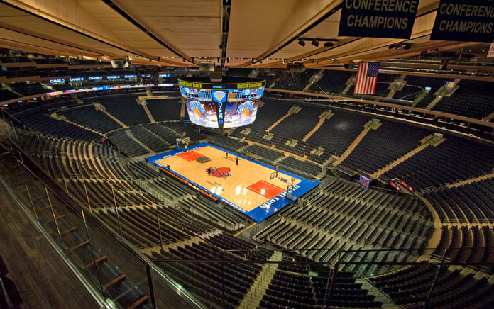 madison square garden interno